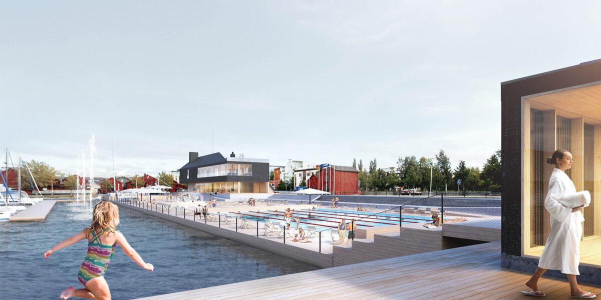 Allas Sea Pool Oulu
